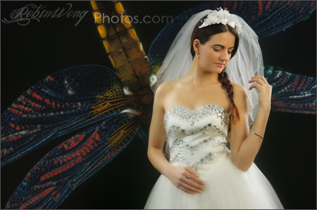 wedding portrait studio photography