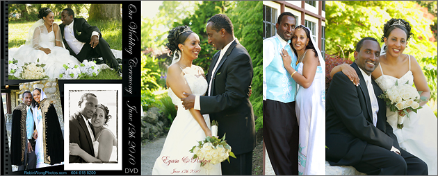 Eritrean wedding photo album