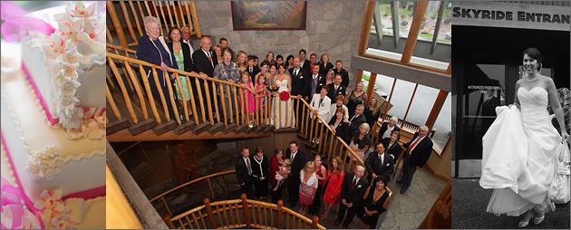North Vancouver wedding photography, Grouse Mountain wedding photos