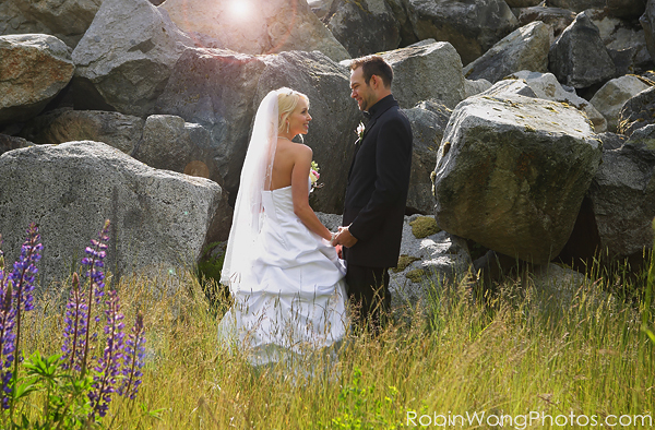 Furry Creek wedding photo