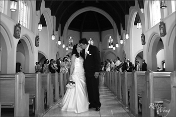 B&W wedding photography,