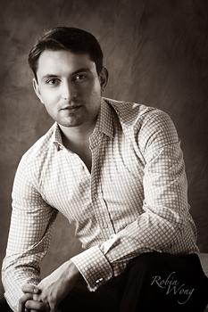 actor posing shot