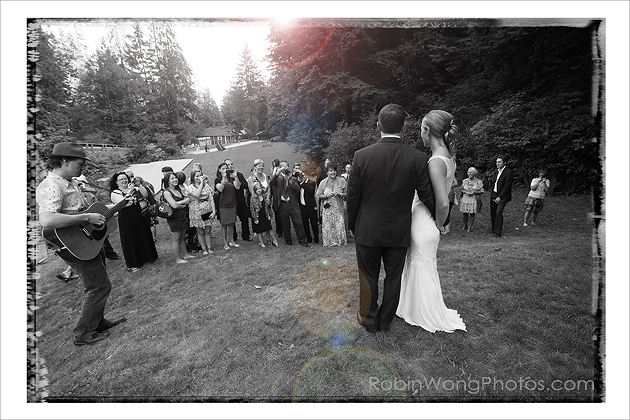 North Vancouver Headwaters park Wedding