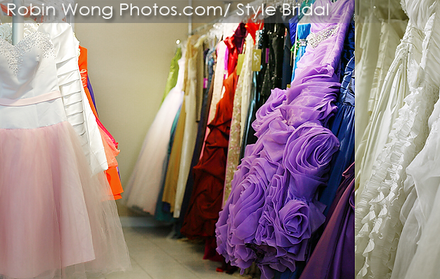 Wedding gowns & Evening gowns collection