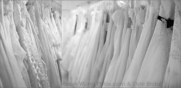 Wedding gowns selection