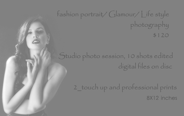 Glamour/Life style fashion photography
