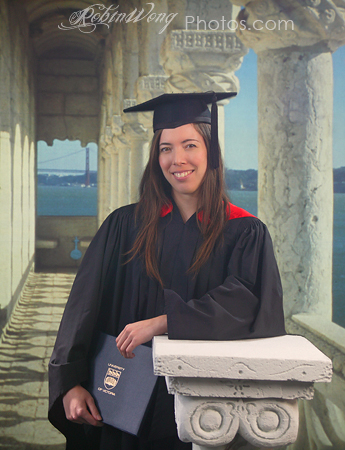University of Victoria Graduation photo