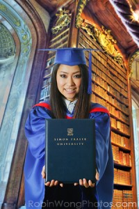 Vancouver graduation photo studio and gown rental