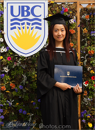 UBC graduation photo